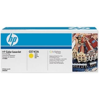 Product image of HP 307A Yellow Toner Cartridge (Yield 7,300 Pages) for HP Colour LaserJet CP5225