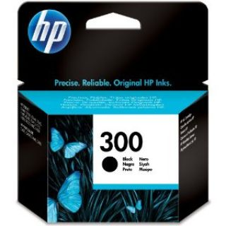 Product image of HP 300 Black Ink Cartridge with Vivera Ink (Yield 200 Pages) for ENVY 110 e-All-in-One Printer