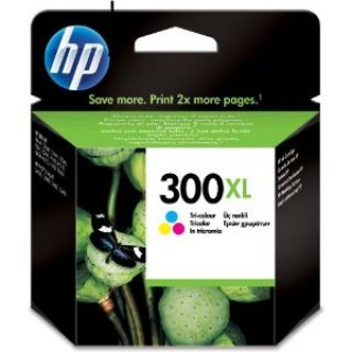 Product image of HP 300XL Tri-colour (Yield 440 pages) Ink Cartridge with Vivera Inks