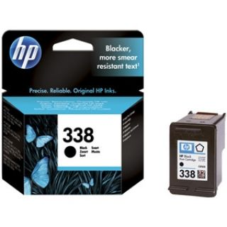 Product image of HP 338 Black Inkjet Print Cartridge (Yield 450 Pages) for Officejet 100 Mobile Printer