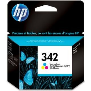 Product image of HP 342 (Yield 175 Pages) Tri-Colour Inkjet Print Cartridge (5ml)