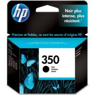 Product image of HP 350 Black Inkjet Print Cartridge with Vivera Ink (Yield 200 Pages)