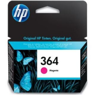 Product image of HP 364  (Magenta) Ink Cartridge (Yield 300 Pages) with Vivera Ink (Blister) Deskjet 3070A e-All-in-One, Officejet 4620 e-All-in-One,