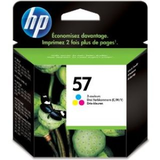 Product image of HP 57 Tri-Colour Inkjet Print Cartridge (Yield 500 Pages) for PhotoSmart 100