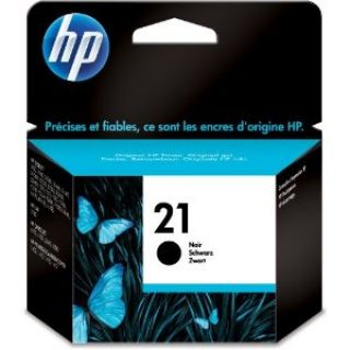 Product image of HP 21 Black Inkjet Print Cartridge (Yield 190 Pages)