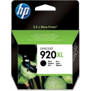 Product image of HP 920XL (Yield 1200 Pages) Black Officejet Ink Cartridge