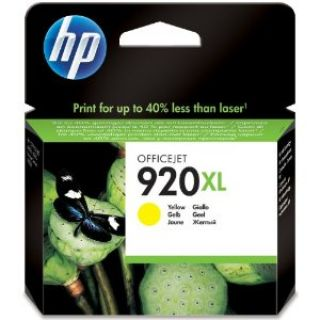 Product image of HP 920XL (Yield 700 Pages) Yellow Officejet Ink Cartridge