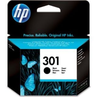 Product image of HP 301 (Yield 190 Pages) Black Ink Cartridge for Deskjet 1000/Deskjet 1050A/Deskjet 3000 Printers