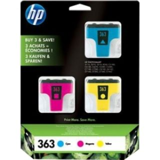 Product image of HP 363 Photo Ink Cartridges Multipack (with Vivera Inks) - Blister with Electromagnetic Alarm
