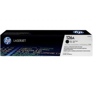 Product image of HP 126A Black ColorSphere Print Cartridge (Yield 1200 Pages) for LaserJet Pro CP1025, CP1025nw