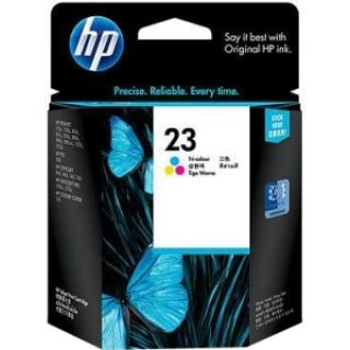 Product image of HP 23 Tri-Colour InkJet Cartridge (30ml)