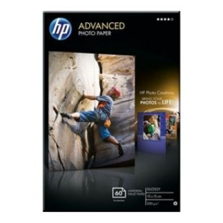 Product image of HP Advanced (10 x 15 cm) Photo Paper Glossy Borderless (60 Sheets) 250gsm (White)