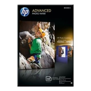 Product image of HP Advanced (10 x 15cm) Glossy Photo Paper Borderless (100 Sheets) 250gsm (White)