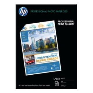 Product image of HP (A4) Laser Photo Paper Matt (100 Sheets) 200gsm (White)