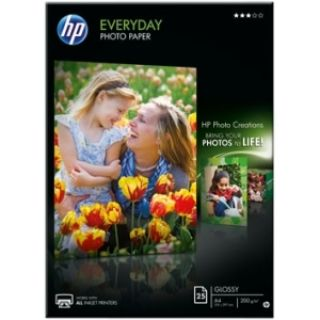 Product image of HP Everyday (A4) 170gsm Gloss Photo Paper (25 Sheets)