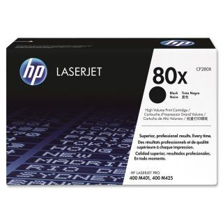 Product image of HP Smart 80X (Yield 6,900 Pages) Black Print Cartridge for HP LaserJet Pro 400 M401, 400 M425