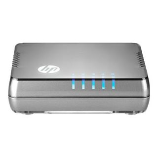 Product image of HP 1405-5 v2 Fast Ethernet Unmanaged Desktop Network Switch