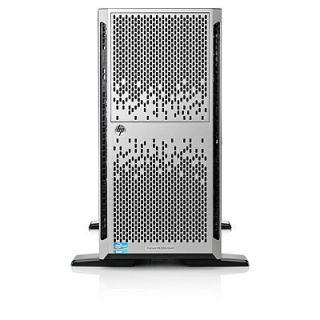 Product image of HP ProLiant ML350e Gen8 Tower Server/TV (5U) Xeon Quad Core E5 (2407) 2.2GHz 4GB 500GB DVD-RW (Matrox G200) with 460W Power Supply