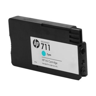 Product image of HP 711 Cyan Ink Cartridge (29ml) for Designjet T120/T520 Large Format Inkjet Printers