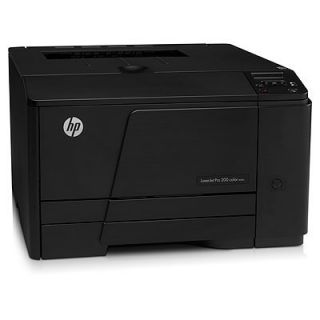 Product image of HP LaserJet Pro 200 M251n (A4) Colour Laser Networked Printer 128MB 2-Line Graphical LCD 14ppm (Mono) 14ppm (Colour) 30,000 (MDC)