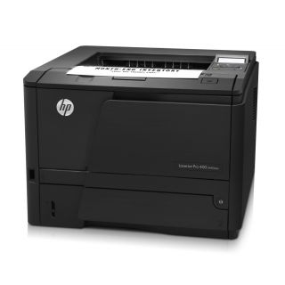 Product image of HP LaserJet Pro 400 M401dne (A4) Mono Laser Ethernet Printer 256MB 2-Line LCD 33ppm 50,000 (MDC)