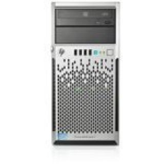 Product image of HP ProLiant ML310e Gen8 v2 (4U) Server Xeon E3 (1220 v3) 3.1GHz 4GB-U (No HDD) SATA LFF DVD-RW (Integrated Matrox G200 Graphics) with 350W Factory Integrated Power Supply