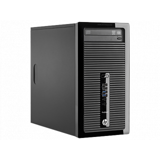 Product image of HP ProDesk 405 G1 Microtower PC Quad Core A4 (5000) 1.5GHz 4GB 500GB DVD Writer SuperMulti LAN Windows 7 Pro 64-bit+Media Upgrade to Windows 8.1 Pro (Radeon HD 8330)