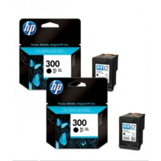 Product image of HP 300XL High Yield (600 Pages) Black Original Ink Cartridge (1 x Pack of 2 Ink Cartridges)