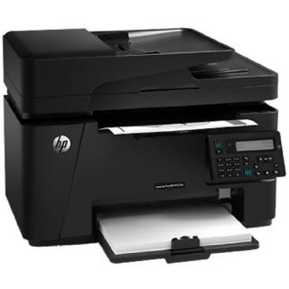 Product image of HP LaserJet Pro M127fn (A4) Mono Laser Networked Multifunction Printer (Print/Copy/Scan/Fax) 128MB 2-line LCD 20ppm 8000 (MDC)