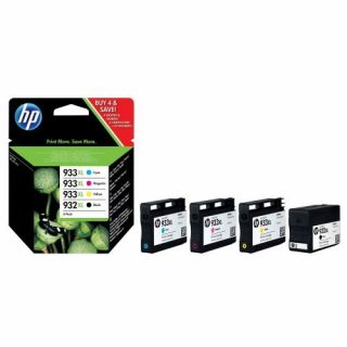Product image of HP 932XL Black Ink Cartridge + 933XL Cyan/Magenta/Yellow Ink Cartridges (Combo Pack) for Officejet 7110/7610 Printer