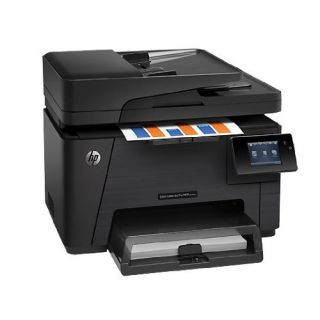 Product image of HP LaserJet Pro M177fw (A4) Colour Multifunction Printer (Print/Copy/Scan/Fax) 128MB 7.6cm Colour Touchscreen 16ppm (Mono) 4ppm (Colour) 20,000 (MDC)