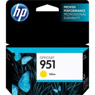 Product image of Hewlett Packard HP Ink/951 Yellow Officejet Cartridge