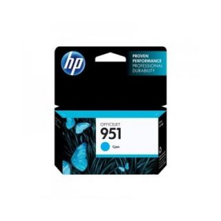 Product image of Hewlett Packard HP Ink/951 Cyan Officejet Cartridge