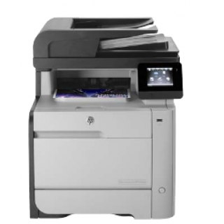 Product image of HP LaserJet Pro M476dw (A4) Color Laser Multifunction Wireless Printer (Print/Copy/Scan/Fax) 256MB 8.9cm Touchscreen LCD 20ppm (Mono) 20ppm (Colour) 40,000 (MDC)