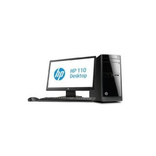 Product image of Bundle: HP 110-004eam Desktop PC Pentium (G2030T) 2.6GHz 4GB 500GB DVD Writer LAN Windows 8 64-bit (HD Graphics) + W2072a 20 inch LED LCD Monitor