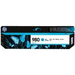 Product image of HP - LASERJET SUPPLY (PL5T) LVS INK CARTRIDGE HP 980 CYAN