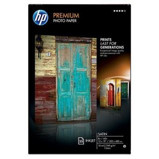 Product image of HP - INKJET MEDIA (AU) PREMIUM SATIN PHOTO PAPER 25 SHEET/A3+/330X483MM (13X19IN)