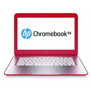 Product image of HP Chromebook 14-q011sa (14 inch) Notebook PC Celeron (2955U) 1.4GHz 4GB 16GB SSD WLAN BT Webcam Chrome OS HD Graphics (Anodized Silver/Peach Coral)