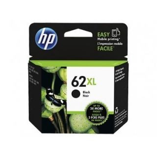Product image of HP 62XL (Yield 600 Pages) Black Original Ink Cartridge for ENVY 5640/7640/Officejet 5740 e-All-in-One Inkjet Printers