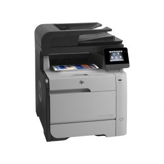 Product image of HP LaserJet Pro M476dn (A4) Color Laser Multifunction Networked Printer (Print/Copy/Scan/Fax) 256MB 8.9cm Touchscreen LCD 20ppm (Mono) 20ppm (Colour) 40,000 (MDC)