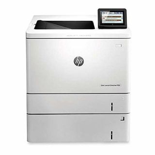 Product image of HP LaserJet Enterprise M553x (A4) Colour Laser Duplexer+Networked/NFC Printer 1GB 10.9cm Touchscreen LCD 38ppm (Mono) 38ppm (Colour) 80,000 (MDC)