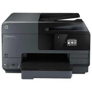 Product image of HP Officejet Pro 8615 (A4) Colour Inkjet Wireless e-All-in-One Printer (Print/Copy/Scan/Fax) 128MB 6.75cm Touchscreen LCD 31ppm (Mono) 31ppm (Colour) 30,000 (MDC)