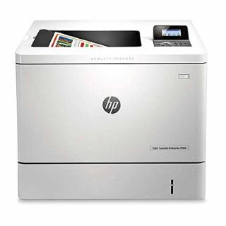 Product image of HP LaserJet Enterprise M553dn (A4) Colour Laser Duplexer+Networked Printer 1GB 4-Line LCD 38ppm (Mono) 38ppm (Colour) 80,000 (MDC)