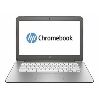 Product image of HP Chromebook 14-x023na (14 inch) Notebook PC Tegra K1 Cortex (A15) 2.3GHz 2GB 16GB WLAN BT Webcam Chrome OS GeForce Graphics (Smoke Silver with Anodized Silver)