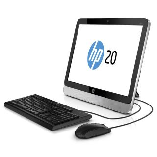 Product image of HP 20-2210NA All-in-One Desktop (AMD 1.35 GHz, 4 GB RAM, Windows 8.1)