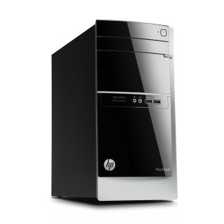 Product image of Hewlett Packard HP Pavilion 500-580na - Micro tower - 1 x A series A8-6500 / 3.5 GHz - RAM 8 GB - HDD 1 TB - DVD-Writer - Radeon R7 240 - GigE - WLAN : 802.11b/g/n - Windows 8.1 64-bit - Monitor : none
