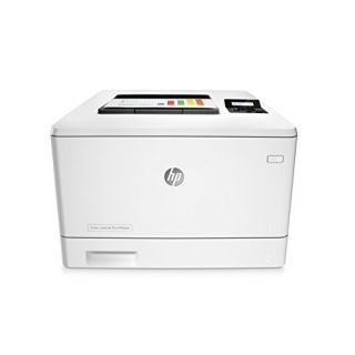 Product image of HP LaserJet Pro M452dn (A4) Colour Laser (Duplexed+Ethernet) Printer 128MB RAM 256MB Flash 2-line Backlit LCD 27ppm (Mono) 27ppm (Colour) 50,000 (MDC)