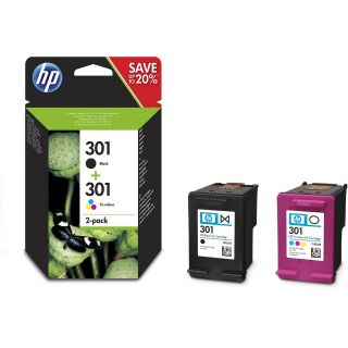 Product image of HP 301 Ink Cart Combo 2-Pack
