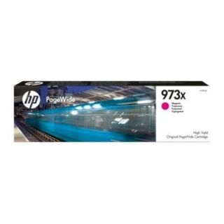 Product image of HP Suppl HP 973X Ink Cart HY PageWide Magenta