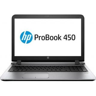 Product image of HP ProBook 450 G3 (15.6 inch) Notebook PC Core i3 (6100U) 2.3GHz 4GB 128GB SSD DVD±RW WLAN BT Webcam Windows 7 Pro+Media Upgrade to Windows 10 Pro (HD Graphics 520)